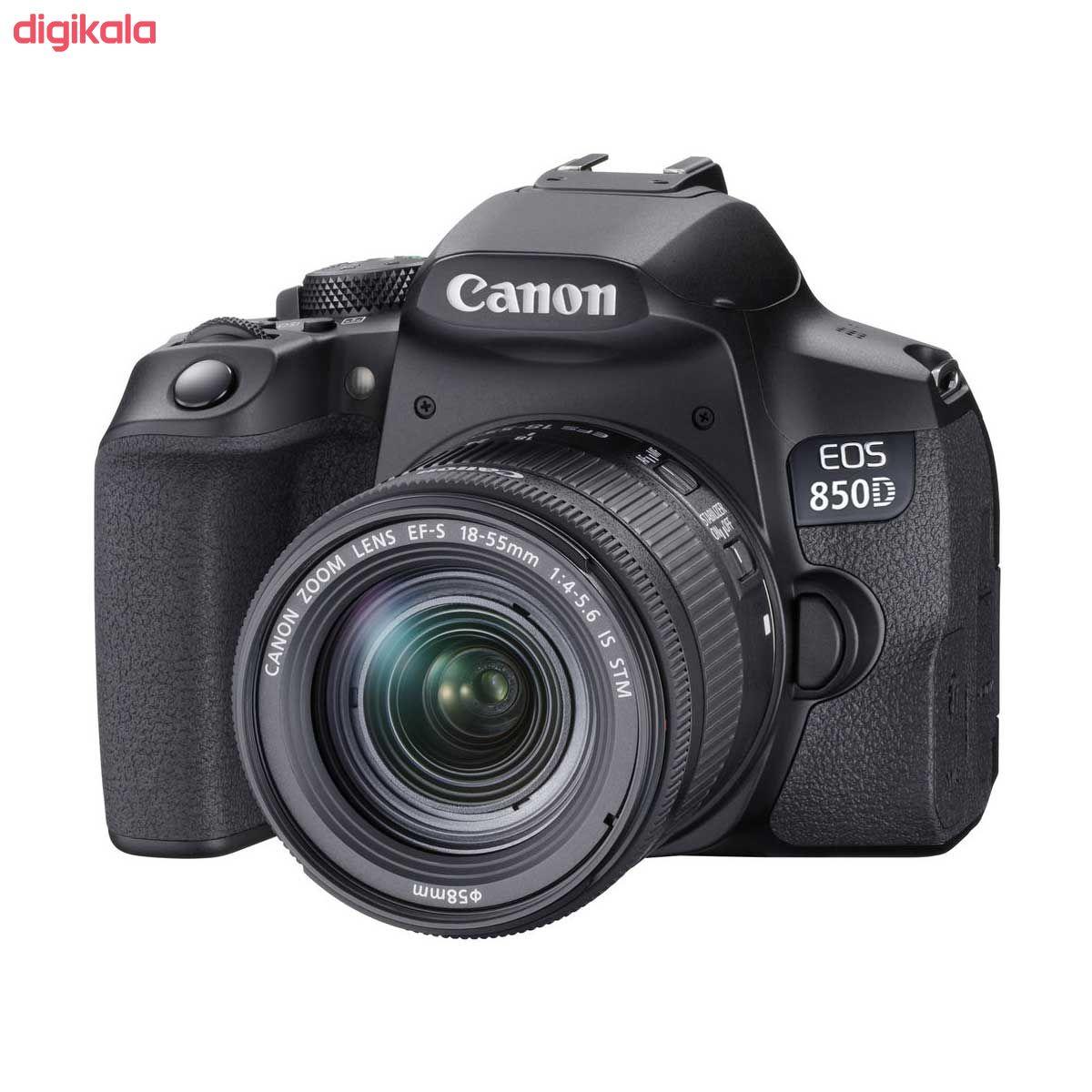 دوربین دیجیتال کانن مدل EOS 850D به همراه لنز 55-18 میلی متر IS STM main 1 1