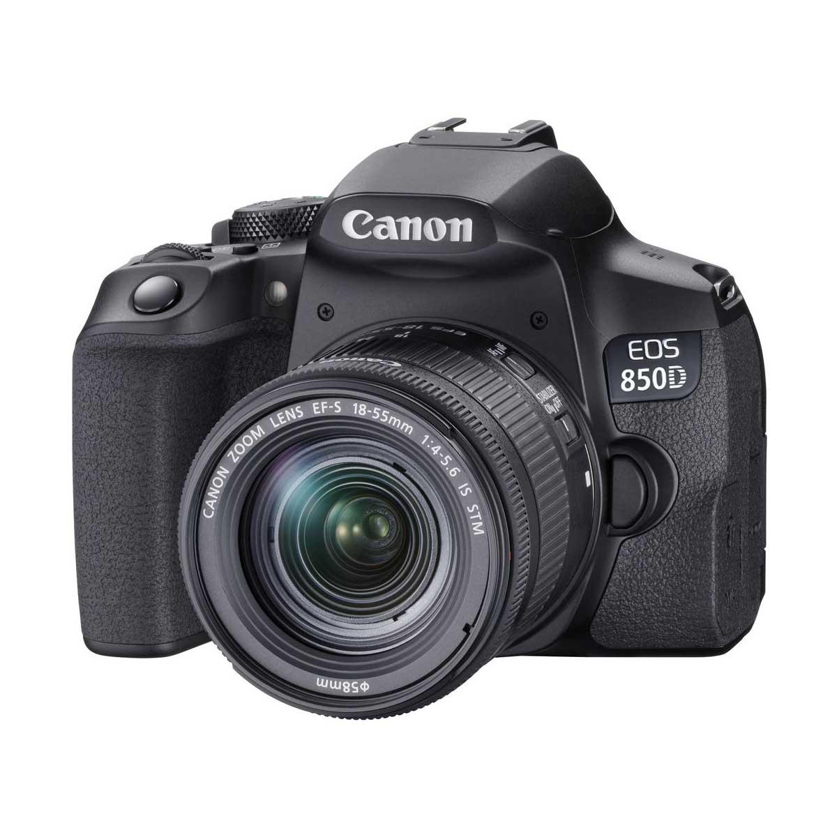دوربین دیجیتال کانن مدل EOS 850D به همراه لنز 55-18 میلی متر IS STM