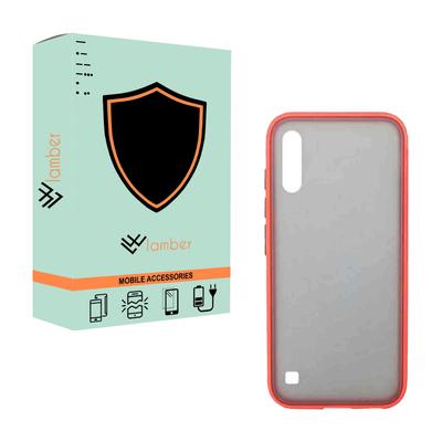 کاور لمبر مدل KEYBDPMC-GCER-1 مناسب برای گوشی موبایل سامسونگ Galaxy A10 به همراه محافظ صفحه نمایش