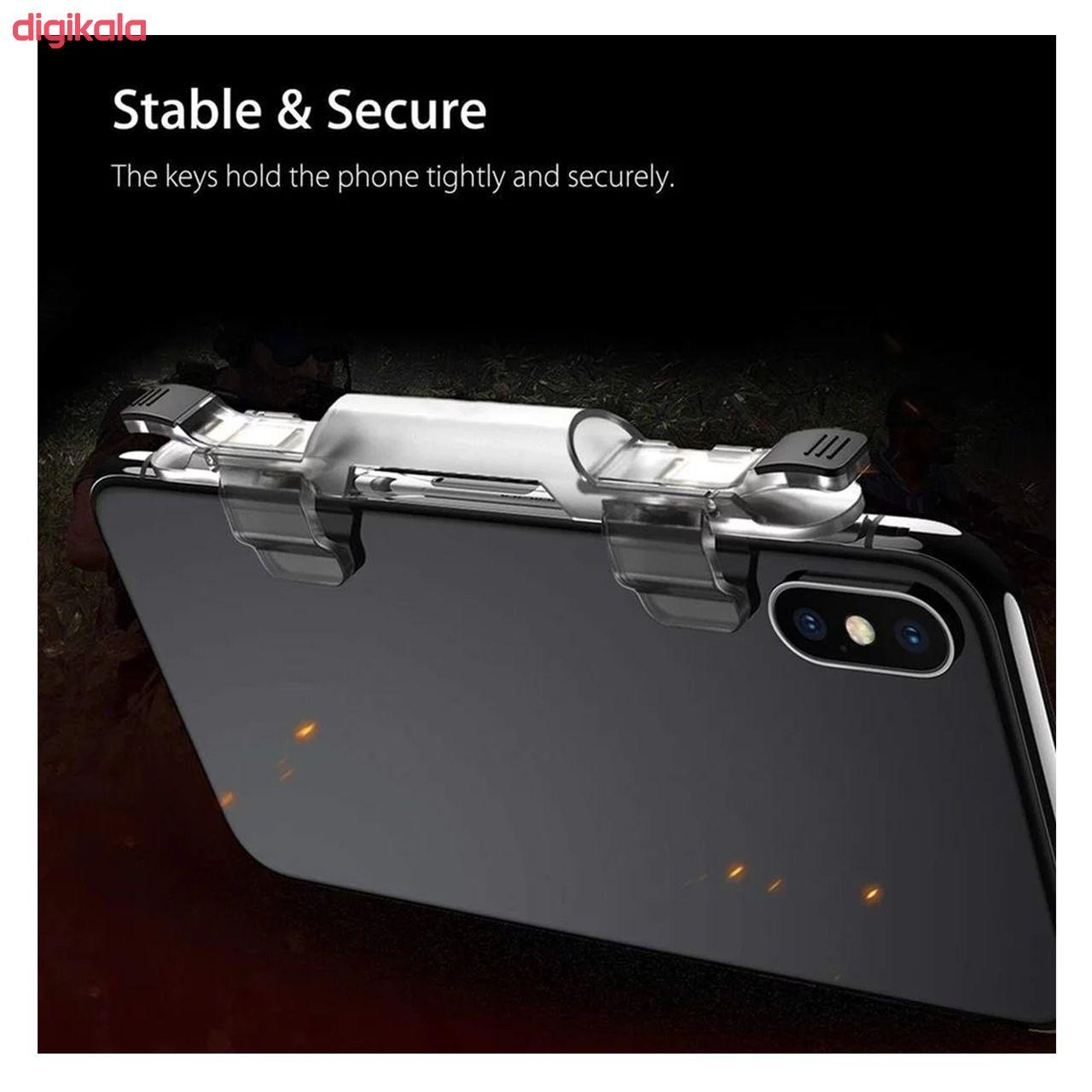 دسته بازی PubG هوک مدل HK001 مناسب برای گوشی موبایل main 1 6