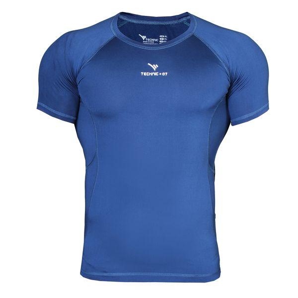 تی شرت ورزشی مردانه تکنیک پلاس07 مدل TS-117-SO