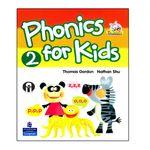 کتاب Phonics For Kids 2 اثر Thomas Gordon And Nathan Shu انتشارات الوندپویان