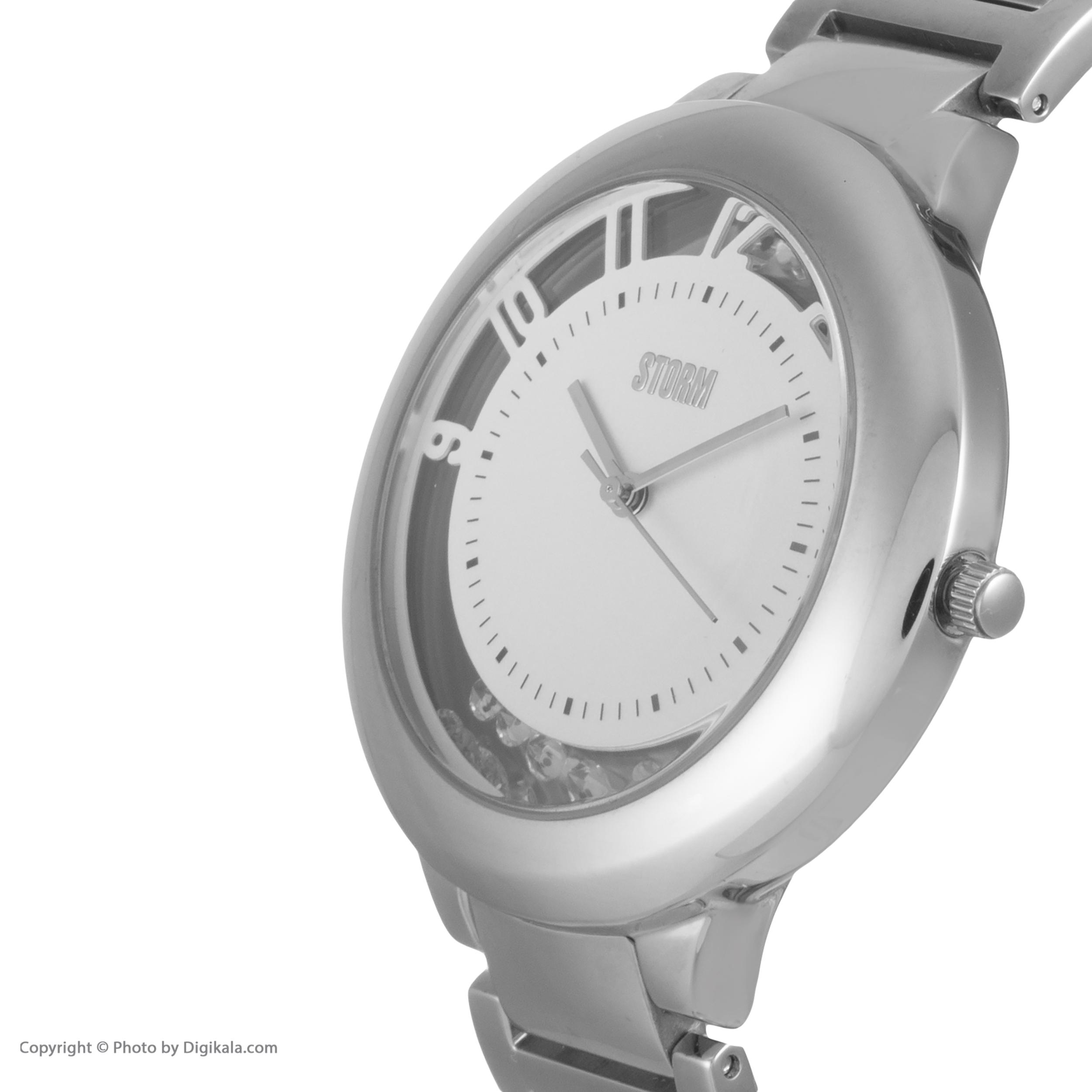 ساعت مچی عقربه ای زنانه استورم مدل ST 47191-S              ارزان
