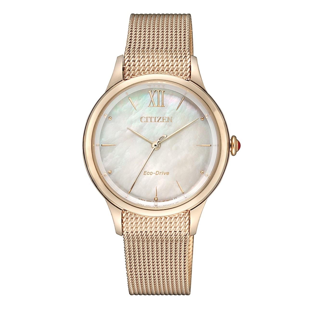 ساعت مچی عقربه ای زنانه سیتی زن کد EM0813-86Y              خرید (⭐️⭐️⭐️)