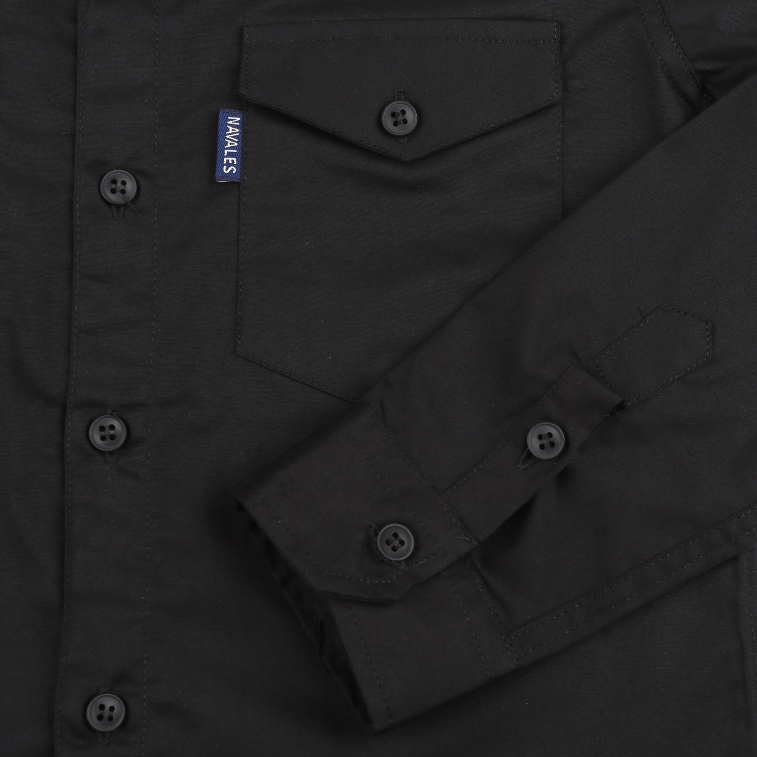 پیراهن پسرانه ناوالس کد 20119-BK main 1 4