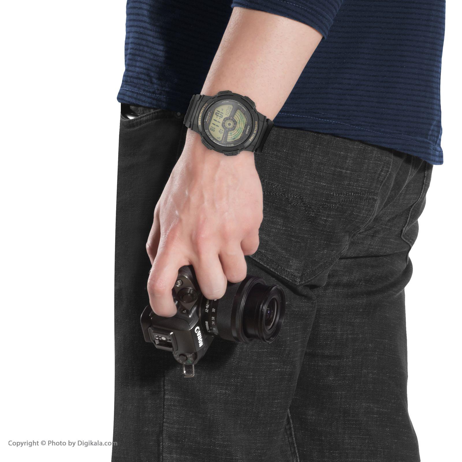 ساعت مچی دیجیتال مردانه کاسیو مدل AE-1100W-1B -  - 2