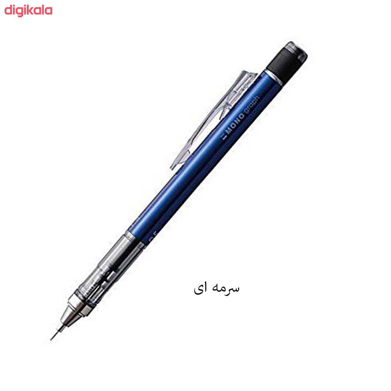 مداد نوکی 0.5 میلی متری تومبو مدل MONO GRAPPH main 1 9