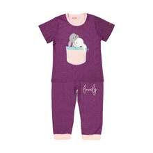 ست تی شرت و شلوار دخترانه مادر مدل 2041102-67