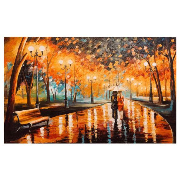 تابلو نقاشی رنگ روغن طرح دوستیمدل11