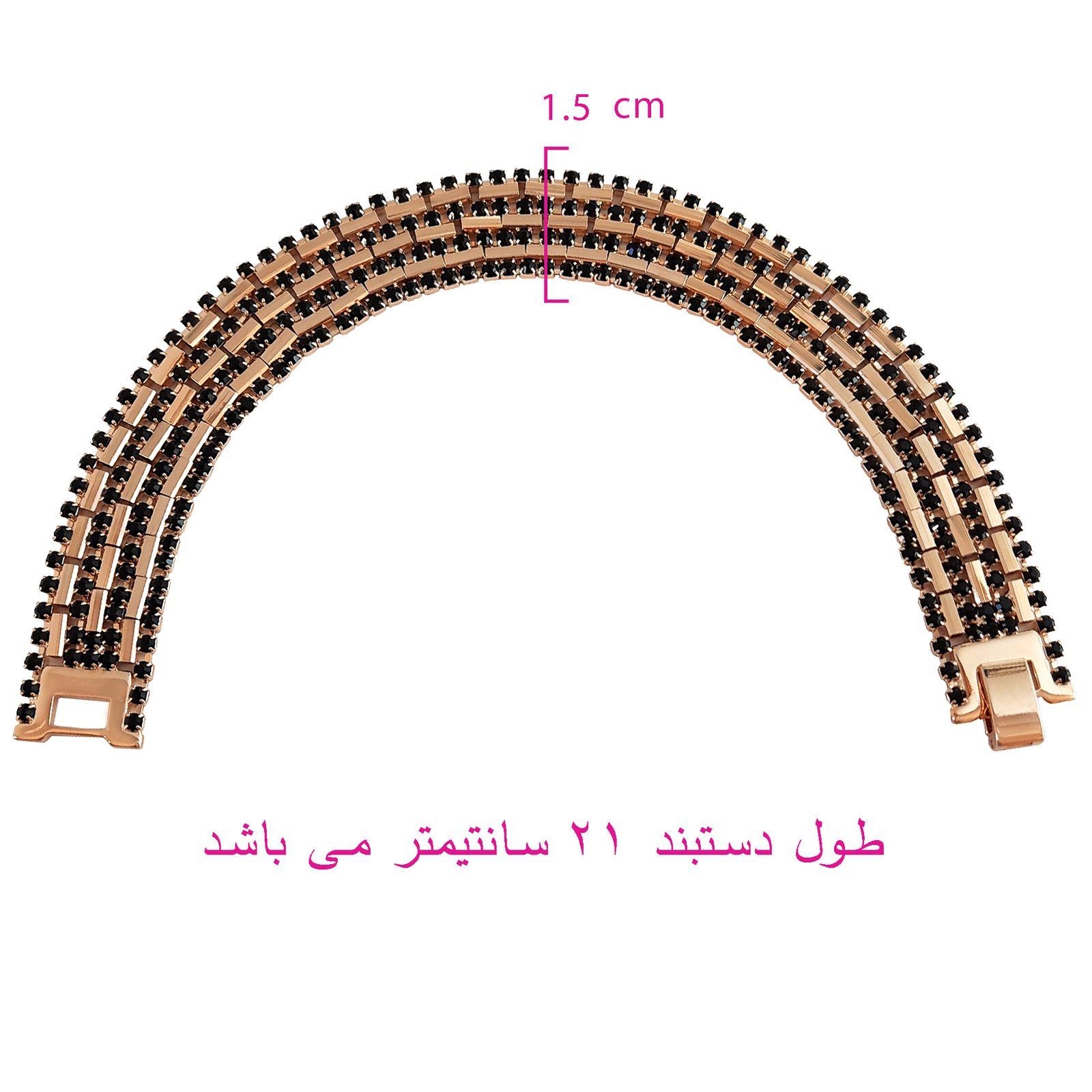 دستبند زنانه ژوپینگ  کد XP238 -  - 7