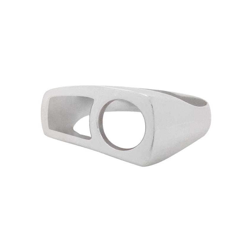 انگشتر نقره زنانه کد R207Psil -  - 3