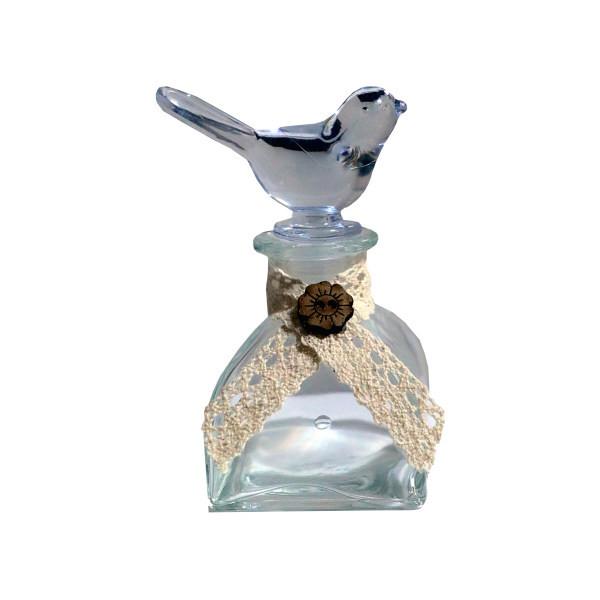 ظرف زعفران طرح پرنده کد 14574