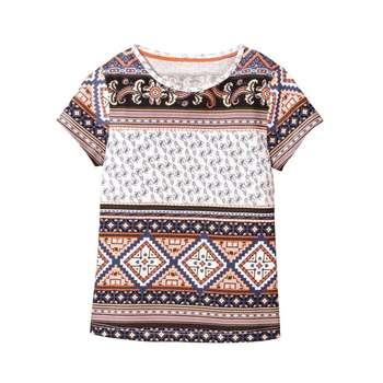 تی شرت آستین کوتاه دخترانه لوپیلو مدل ro77