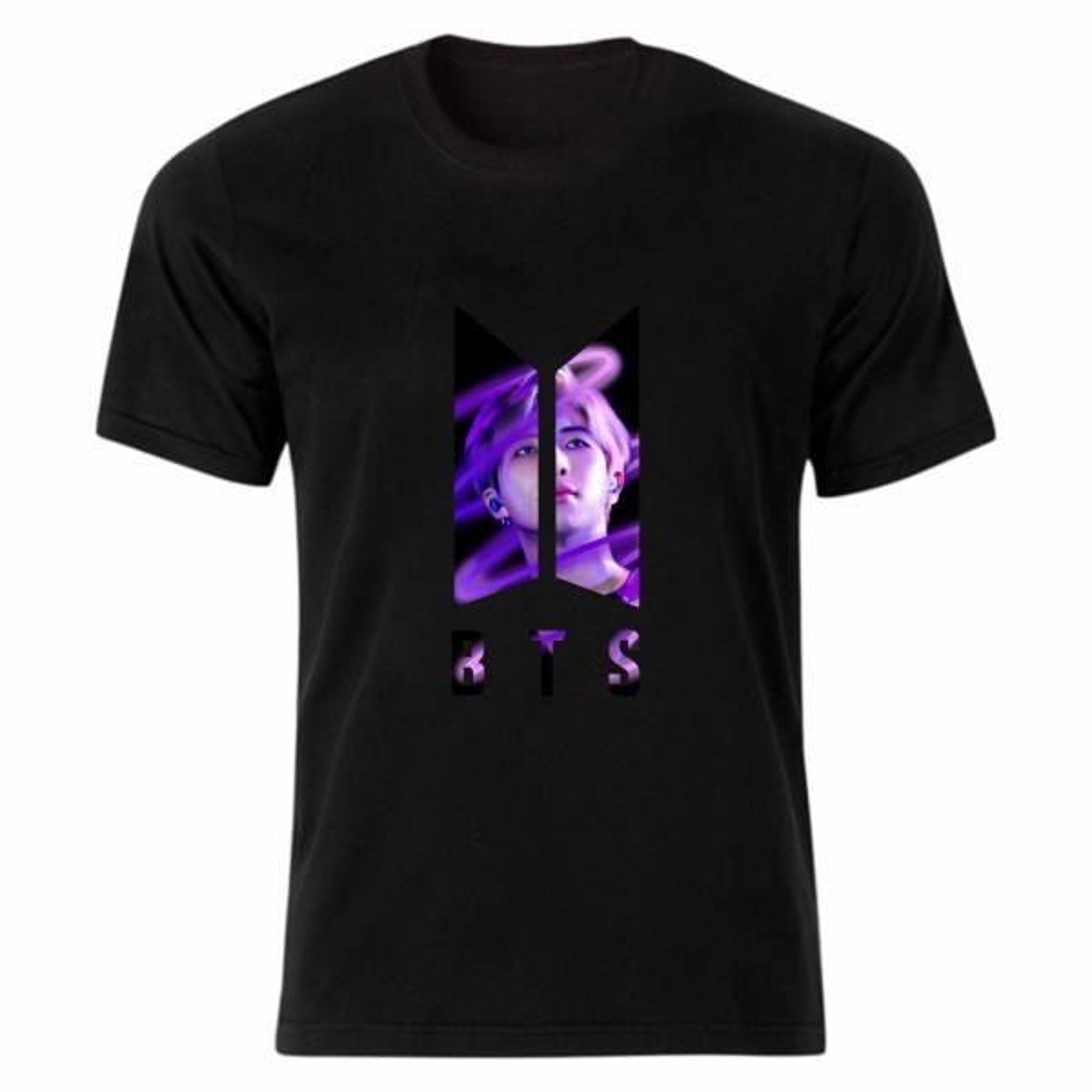 تی شرت آستین کوتاه زنانه مدل بی تی اس tme557
