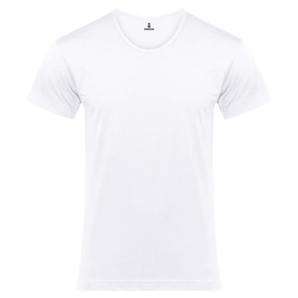زیر پوش مردانه ساروک مدل C08 رنگ سفید
