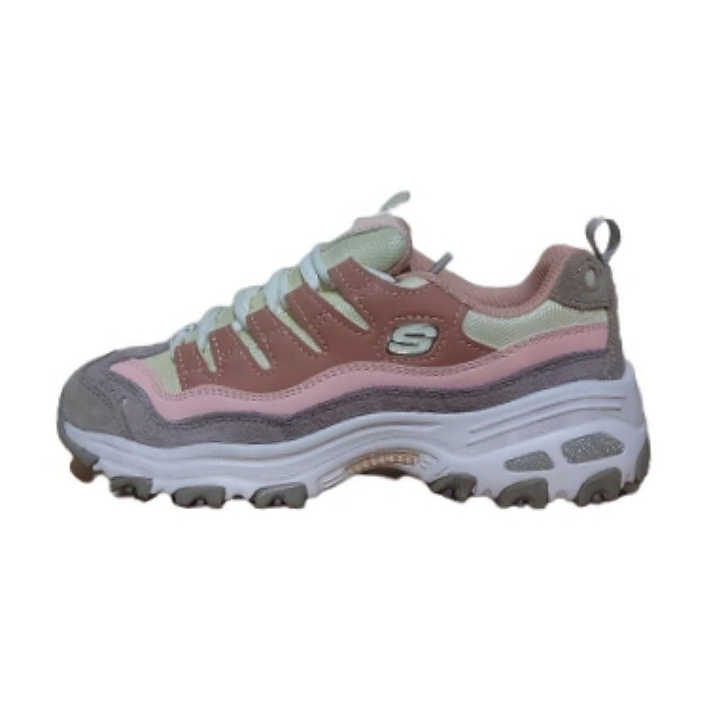 کفش راحتی دخترانه اسکچرز مدل Sn13141