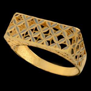 انگشتر طلا 18 عیار زنانه مدل 67128