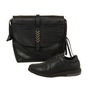 ست کیف و کفش زنانه باب مدل آذین کد 928-1