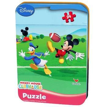 پازل 24 تکه کاردینال مدل Mickey Mouse Club House