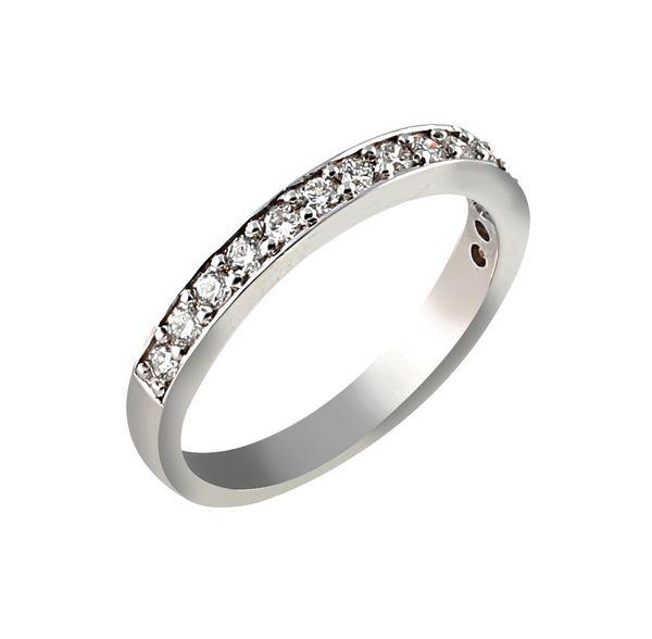 انگشتر طلا 18 عیار زنانه جواهری سروری مدل 12325