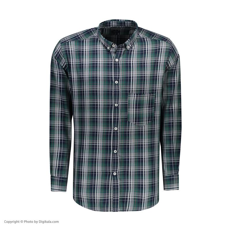 پیراهن آستین بلند مردانه زی مدل 1531344MC