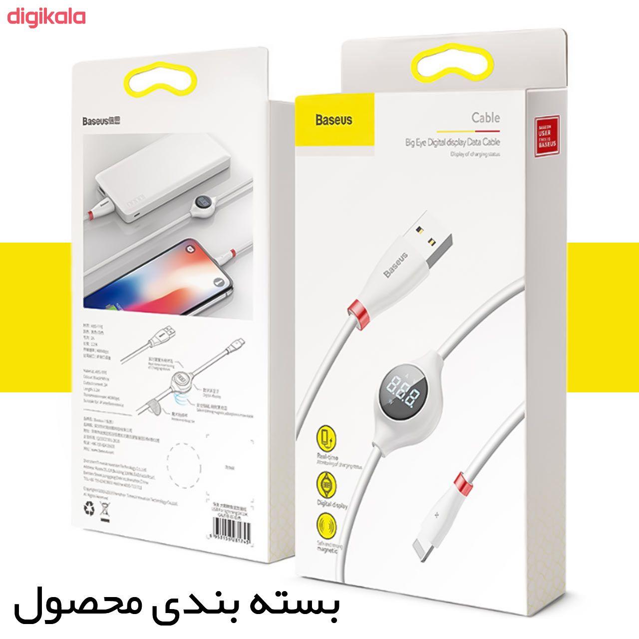 کابل تبدیل USB به لایتنینگ باسئوس مدل CALEYE طول 1.2 متر main 1 5