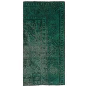 فرش دستبافت رنگ شده یک و نیم متری نیروانا کد 10446