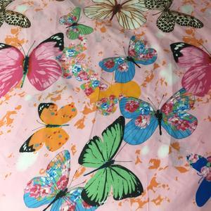 پارچه ملحفه کوکو جم مدل پروانه
