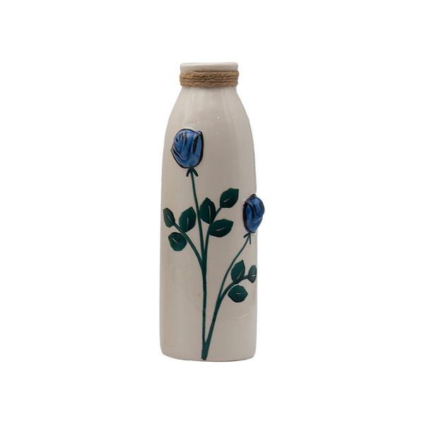 گلدان دکوری طرح گل مدل A04