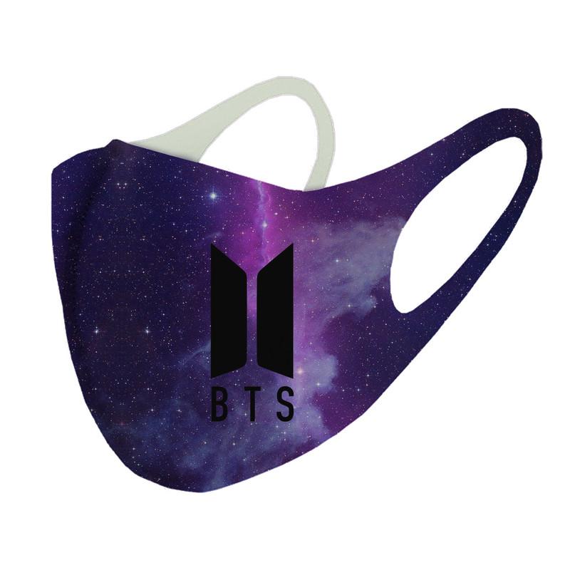 ماسک تزیینی طرح bts کد ma4