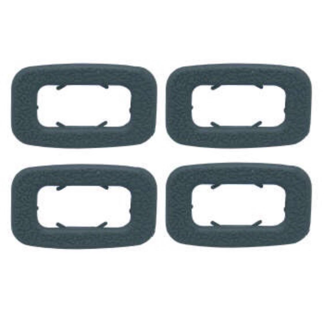 خار دور قفل در خودرو مدل KM 01 مناسب برای پراید صبا بسته 4 عددی