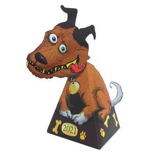 اسباب بازی زینتی مدل سگ