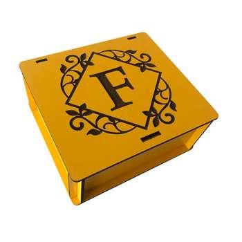 جعبه هدیه چوبی مدل j125