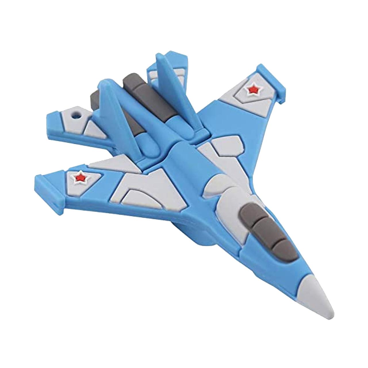بررسی و خرید [با تخفیف]                                     فلش مموری طرح هواپیمای جنگنده مدل DPL1205 ظرفیت 128 گیگابایت                             اورجینال