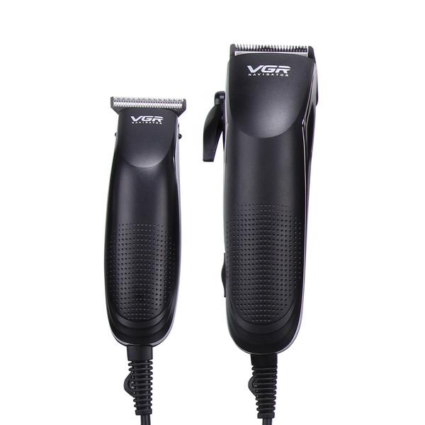 ماشین اصلاح موی سر و صورت وی جی ار مدل V-023 مجموعه 2 عددی