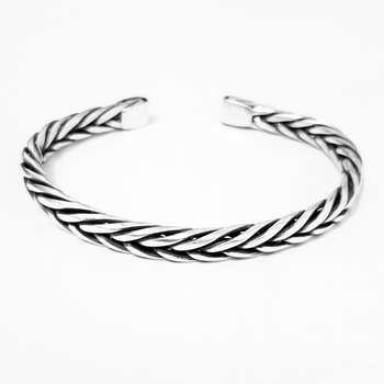 دستبند نقره مردانهکد HN2002