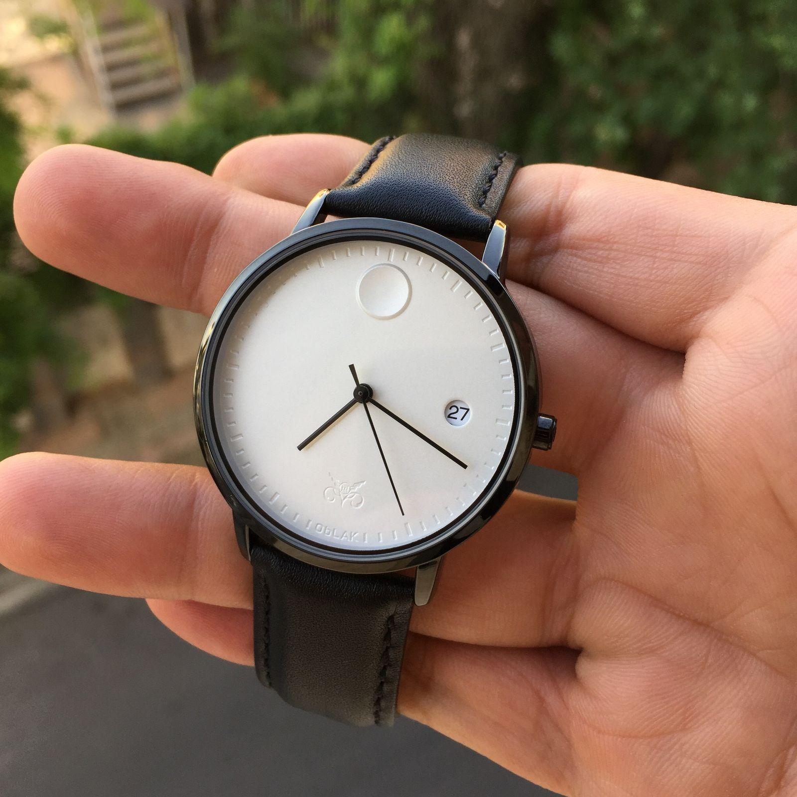 ساعت مچی عقربه ای مردانه اوبلاک مدل 72696 -  - 3