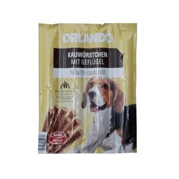 غذای تشویقی سگ اورلاندو مدل MIT GEFLUGEL 2 وزن 55 گرم