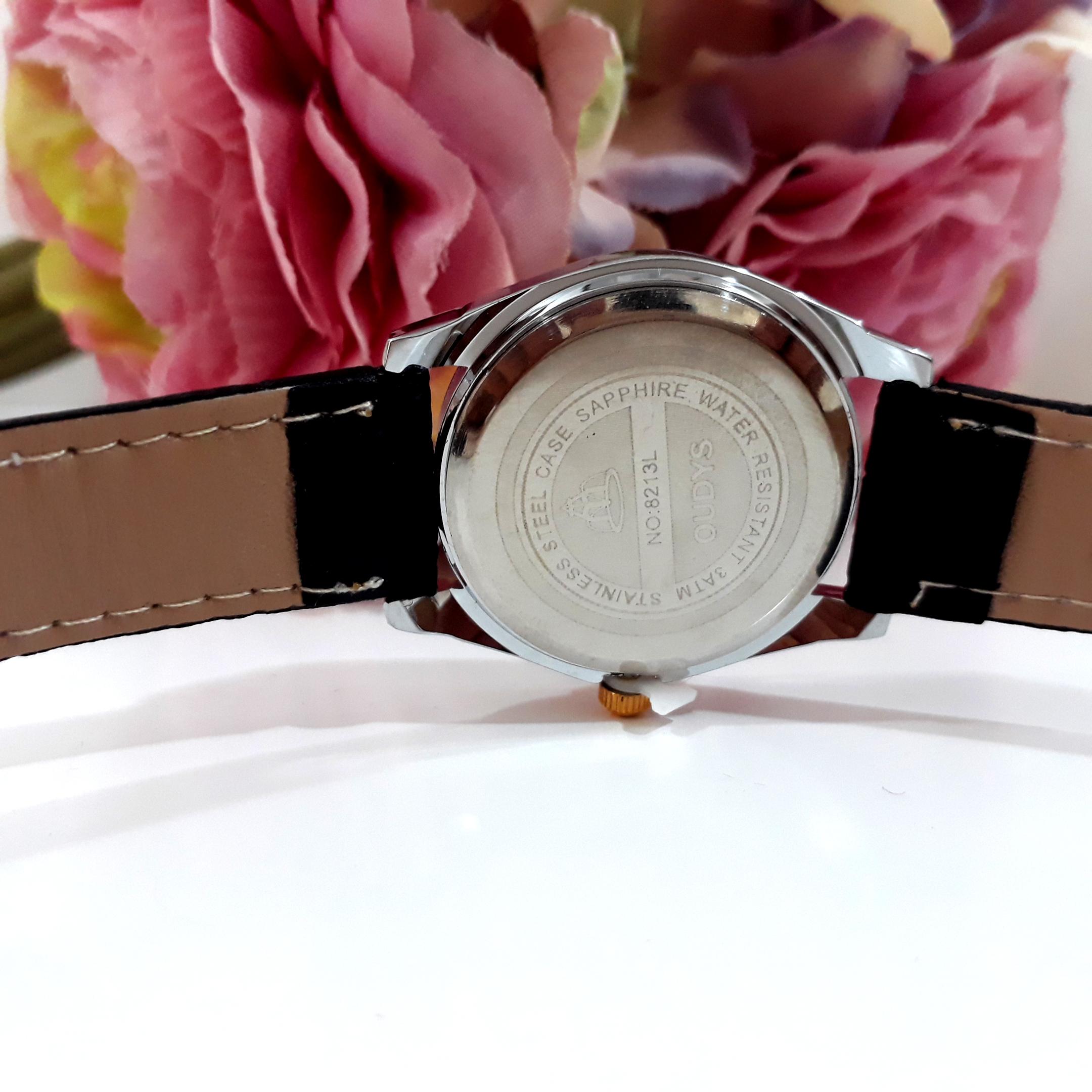 خرید و قیمت                      ساعت مچی  زنانه اودیس کد black01