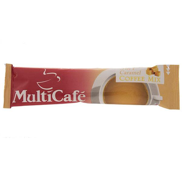 کافی میکس کاراملی مولتی کافه - ۱۸ گرم بسته ۵ عددی