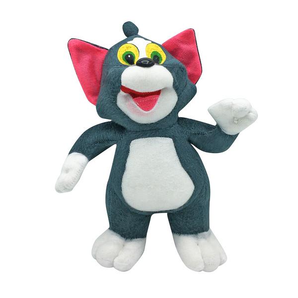 عروسک طرح گربه تام کد 1292 ارتفاع 25 سانتی متر