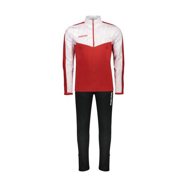 ست سویشرت و شلوار ورزشی مردانه مکرون مدل دیو رنگ قرمز