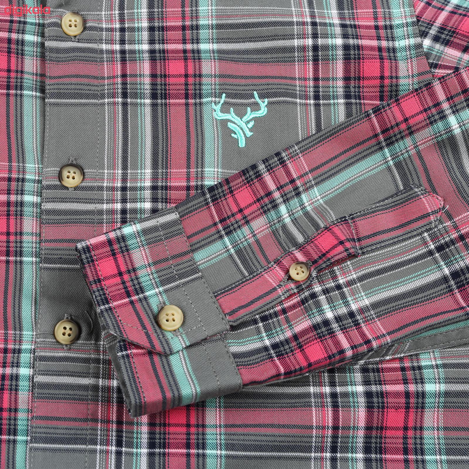پیراهن پسرانه ناوالس کد G-20119-GY main 1 3