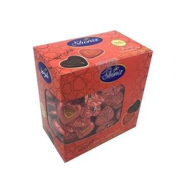 شکلات تلخ قلبی 78 درصد شونیز - 1 کیلوگرم