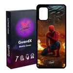 کاور گارد ایکس طرح Spider Man مدل Glass10098 مناسب برای گوشی موبایل سامسونگ Galaxy A31
