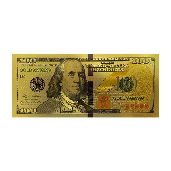 تزیینی مدل اسکناس طرح 100 دلاری