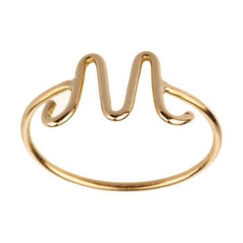 انگشتر طلا 18 عیار زنانه مایا ماهک مدل MR0365