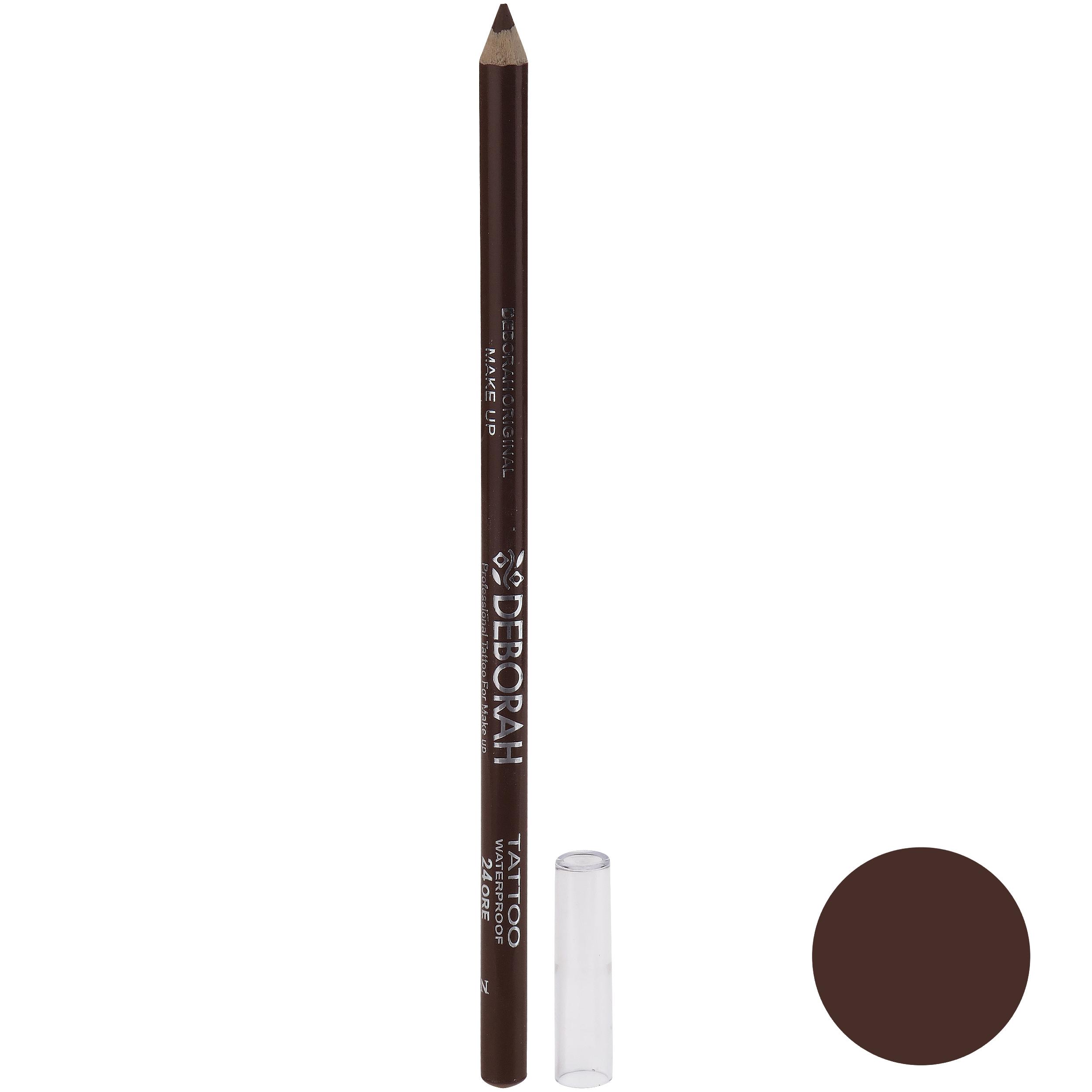 مداد ابرو دبورا سری TATTOO 24ORE شماره 284