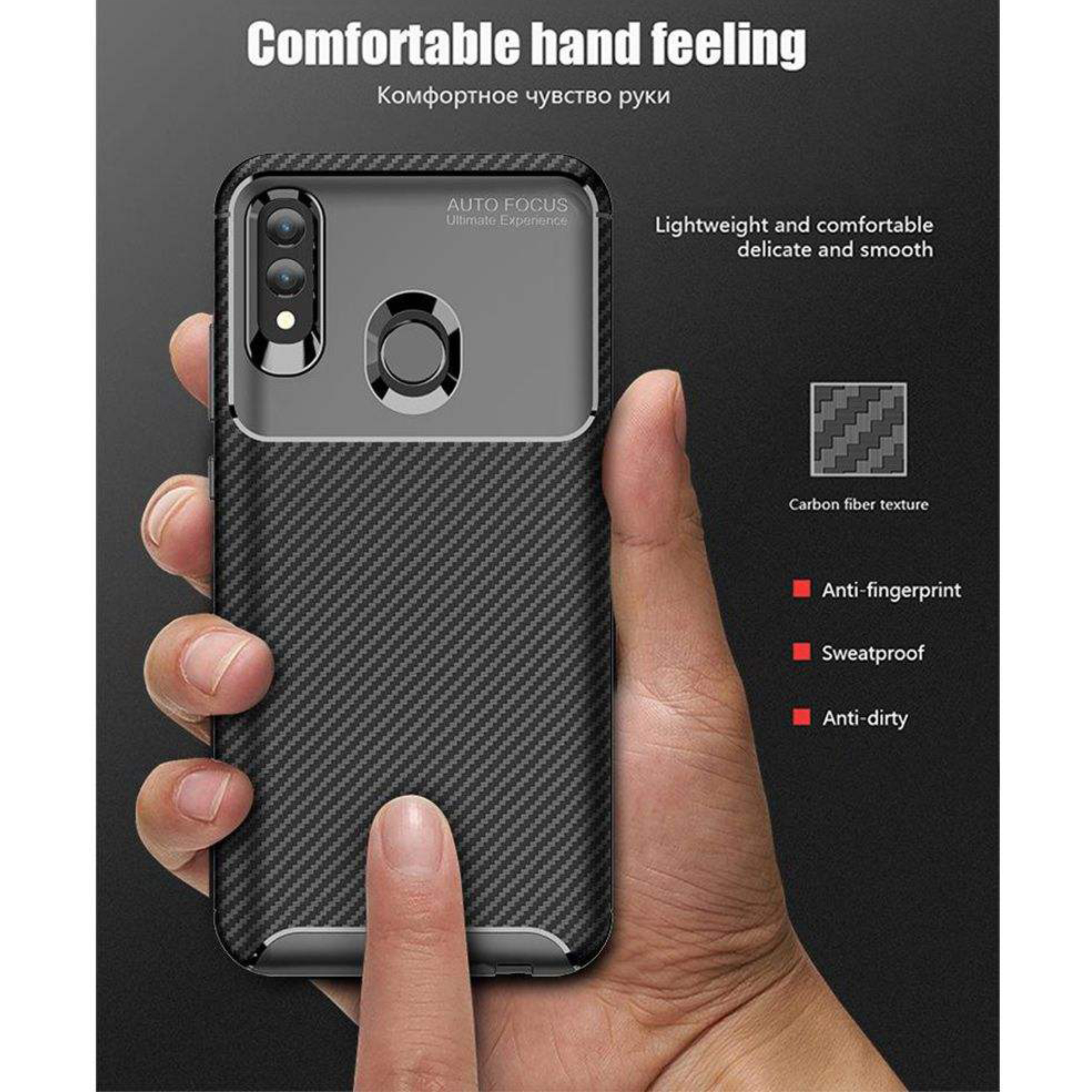 کاور لاین کینگ مدل A21 مناسب برای گوشی موبایل هوآوی P Smart 2019/ آنر 10Lite thumb 2 5