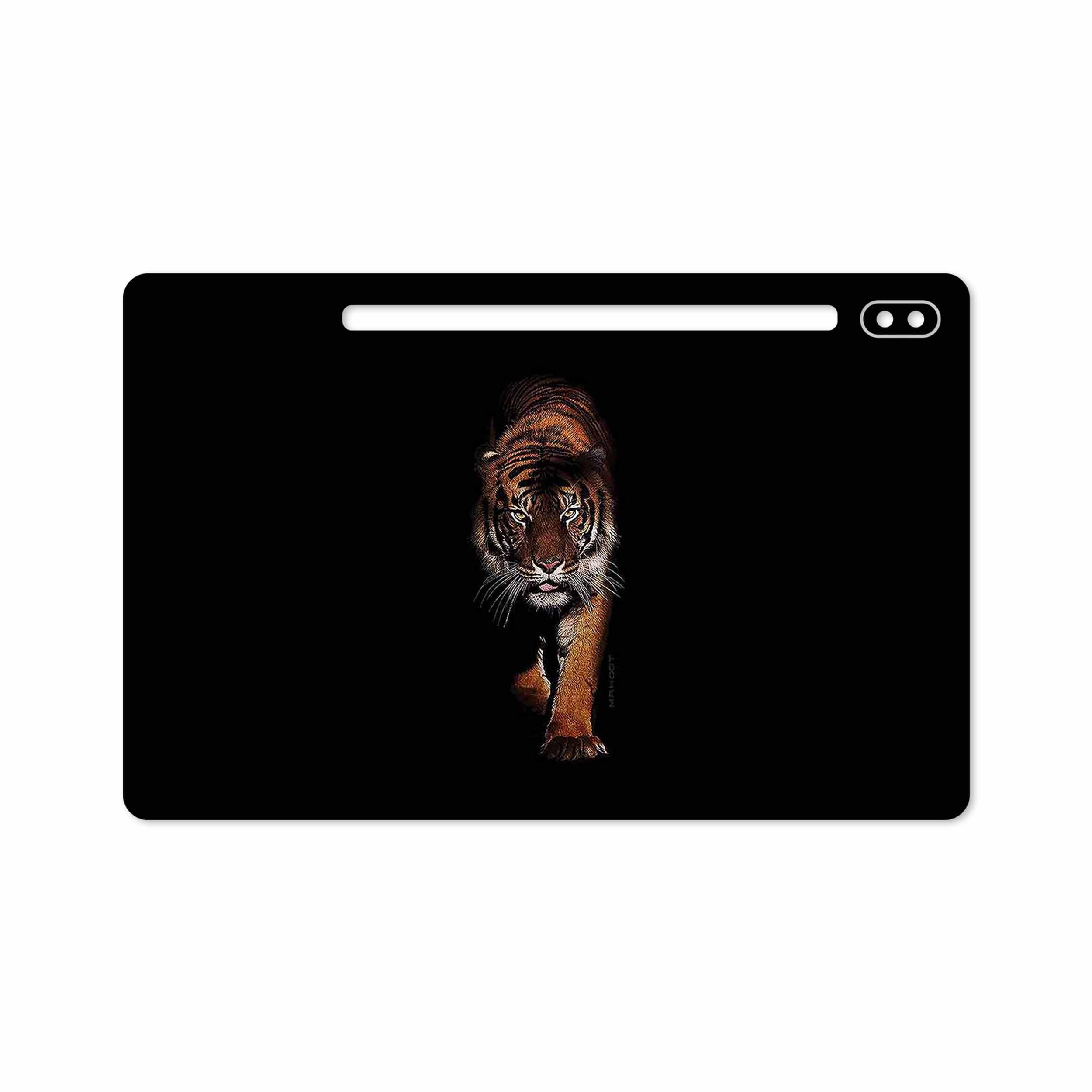 بررسی و خرید [با تخفیف]                                     برچسب پوششی ماهوت مدل Wild Tiger مناسب برای تبلت سامسونگ Galaxy Tab S6 2019 SM-T865                             اورجینال